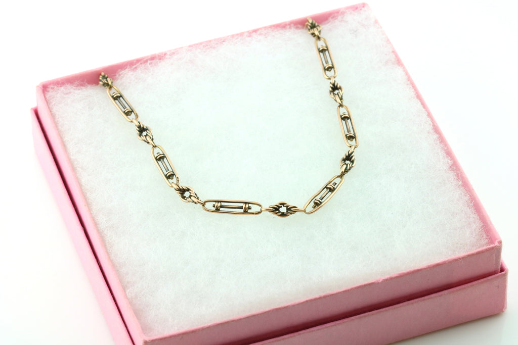 9ct Rose Gold Victorian Chain