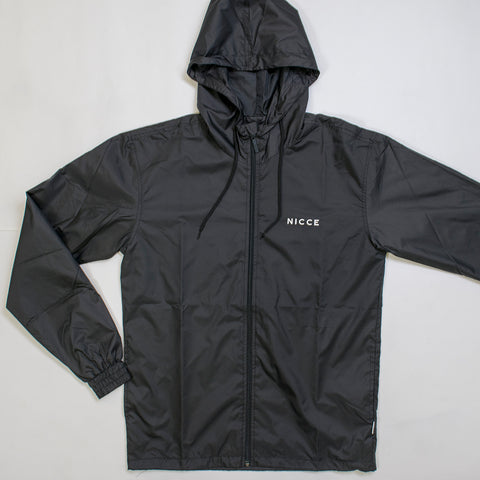 nicce windbreaker black