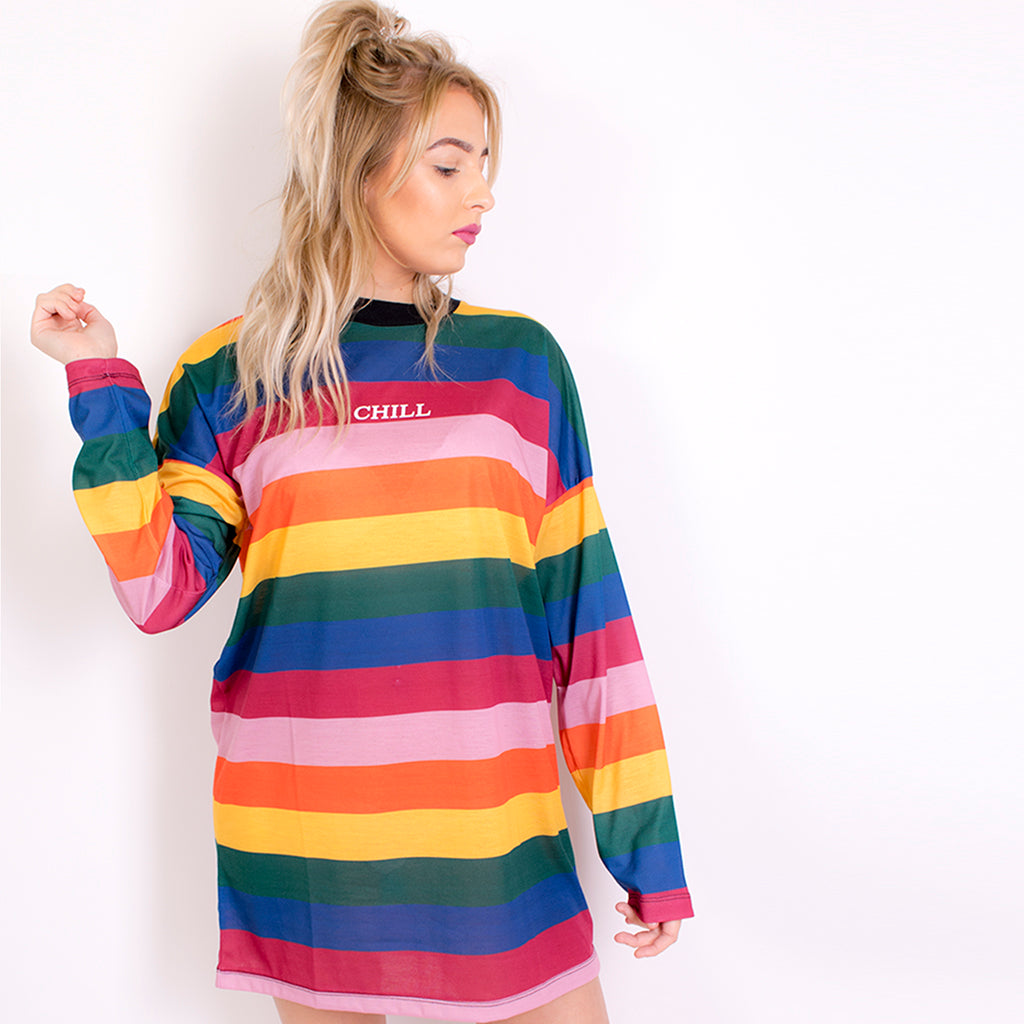 charm dress 'chill' rainbow multi