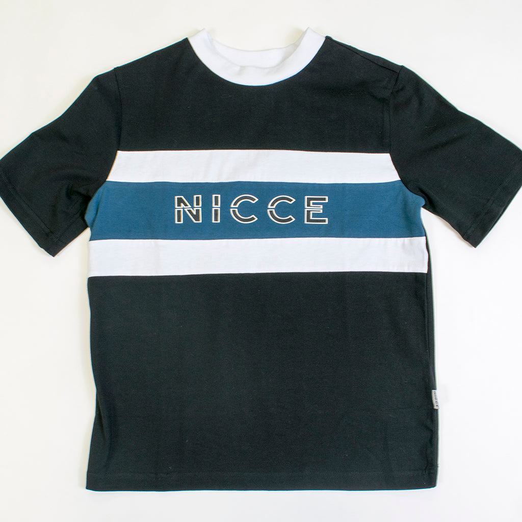 nicce column tshirt black/deep
