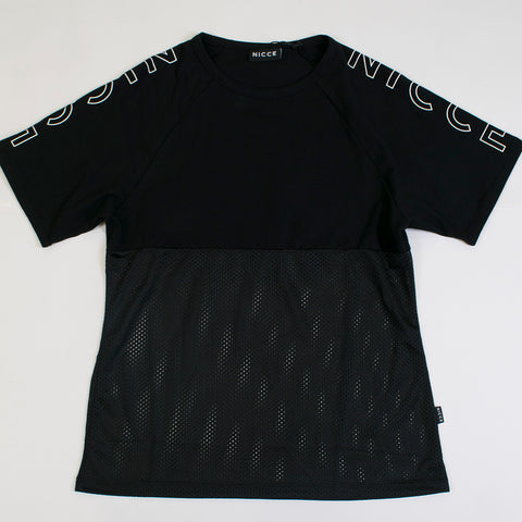 nicce glare t-shirt black