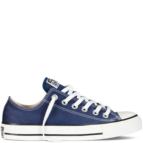 converse all star navy low canvas