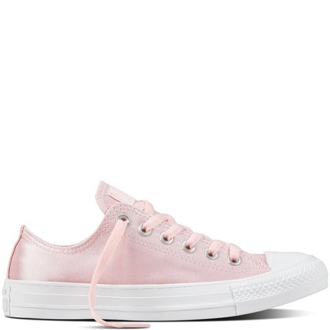 converse all star pink satin low