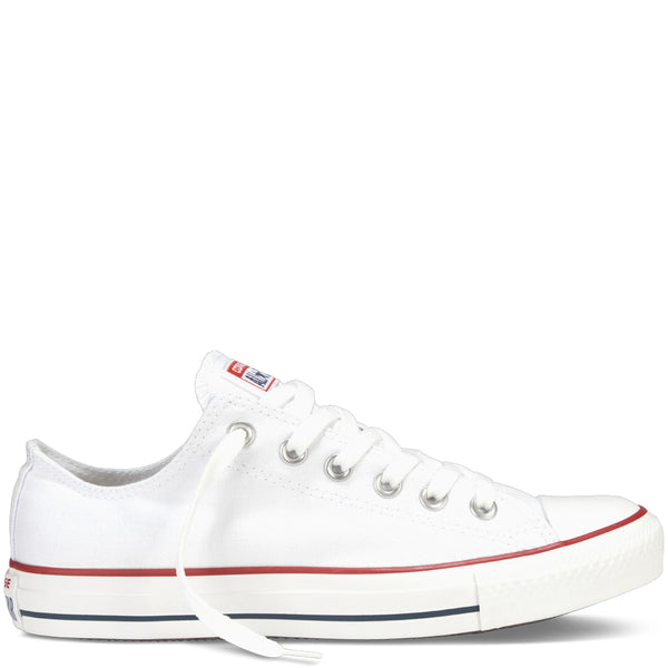 converse all star white low canvas