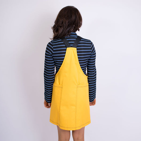 maze pinafore yellow
