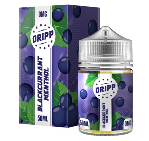 Blackcurrant Menthol by Dripp Short Fill 50ml