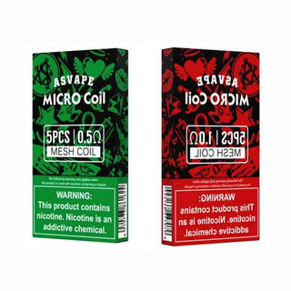 Asvape Micro Pod Replacement Coils 5 Pack