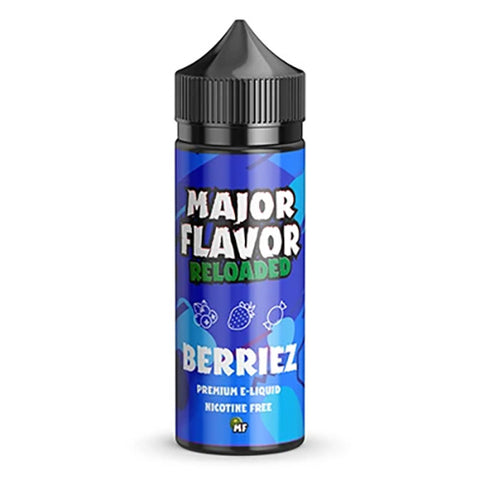 Berriez by Major Flavor Reloaded Short Fill 100ml