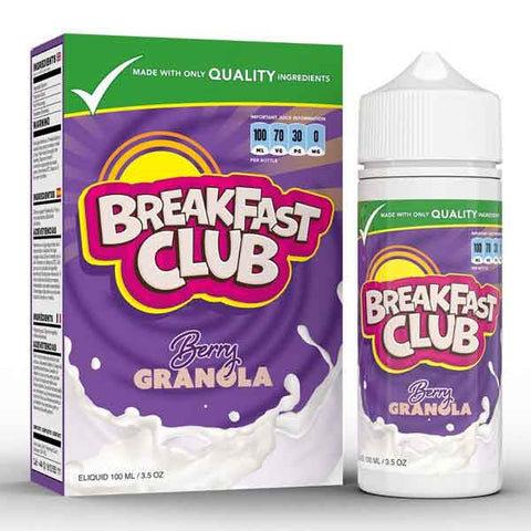 Berry Granola by Breakfast Club Short Fill 100ml