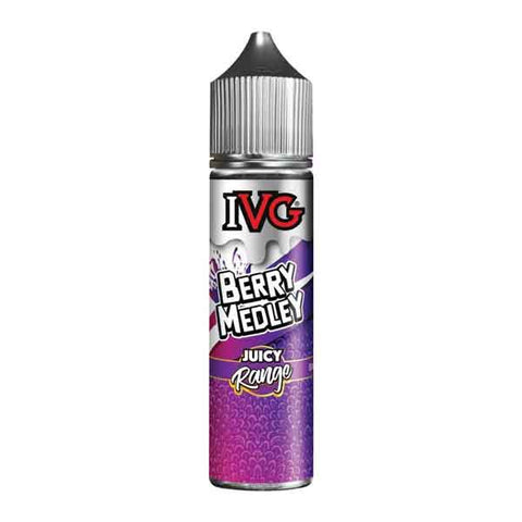 Berry Medley IVG Juicy Range Short Fill 50ml