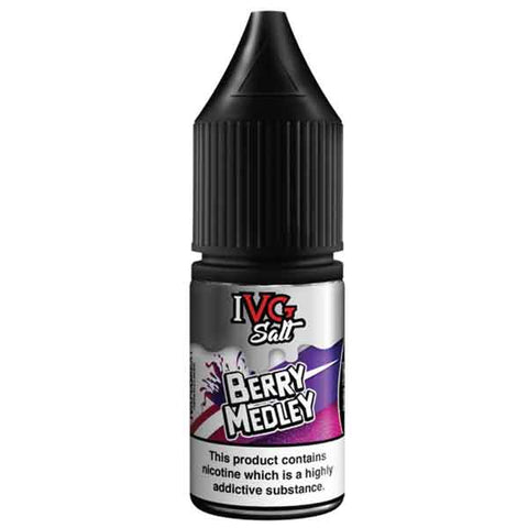 Berry Medley Salt E-Liquid By IVG 10ml