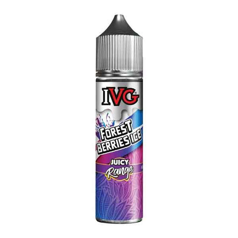 Forest Berries Ice IVG Juicy Range Short Fill 50ml