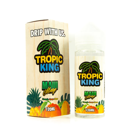 Maui Mango by Tropic King Short Fill 100ml