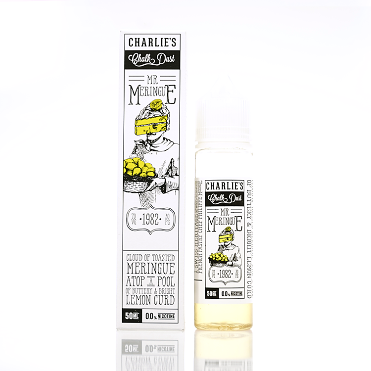Charlie's Chalk Dust Lemon Meringue by Mr. Meringue Short Fill 50ml