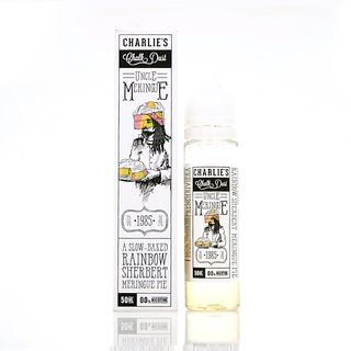 Charlie's Chalk Dust Rainbow Sherbert by Uncle Meringue Short Fill 50ml