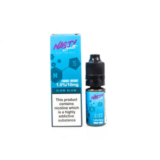 Nasty Salt Slow Blow Eliquid 10ml