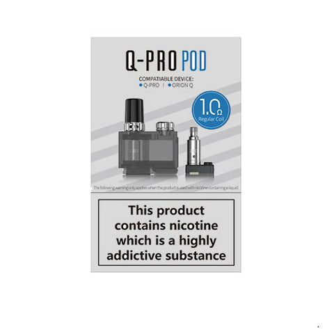 Lost Vape Orion Q-Pro Kit Refillable Replacement Pod Cartridge 1 Pcs