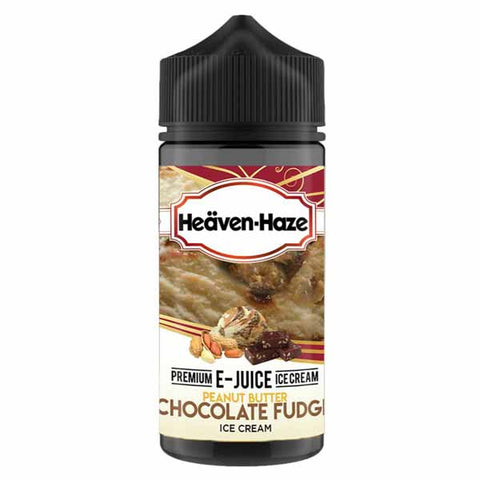 Peanut Butter Chocolate Fudge Ice Cream by Heaven Haze Short Fill 100ml