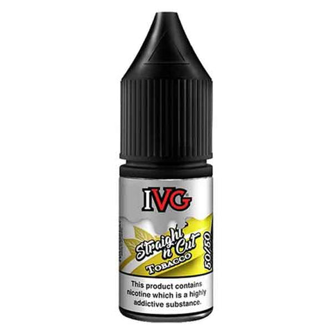 Straight 'N' Cut 50/50 E-Liquid by IVG 10ml