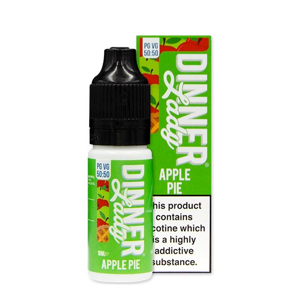 Apple Pie 50/50 E-Liquid by Dinner Lady 10ml