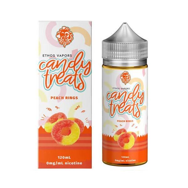 Peach Rings - Candy Treats by Ethos Vapors - Short Fill 100ml