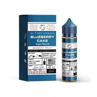 Glas Basix - Blueberry Cake - QuickNic Ready 50ML