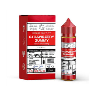 Glas Basix - Strawberry Gummy - QuickNic Ready 50ML