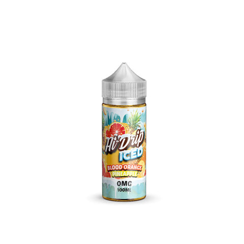 Blood Orange Pineapple ICED by Hi-Drip Short Fill 100ml