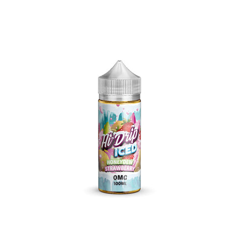 Honeydew Strawberry ICED by Hi-Drip Short Fill 100ml