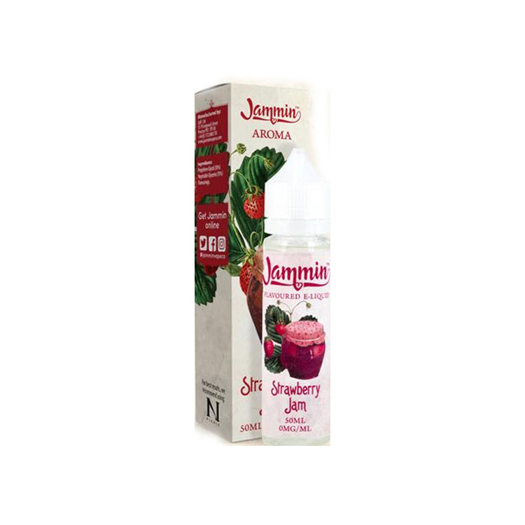 Strawberry Jam Jammin - 50ML - Short Fill