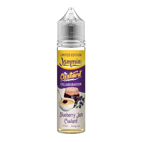 Blueberry Jam Custard - Jammin' X Custard Company 50ml