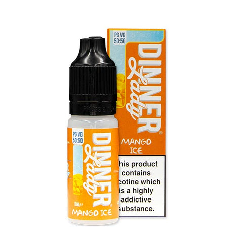 Mango Ice 50/50 E-Liquid by Dinner Lady 10ml