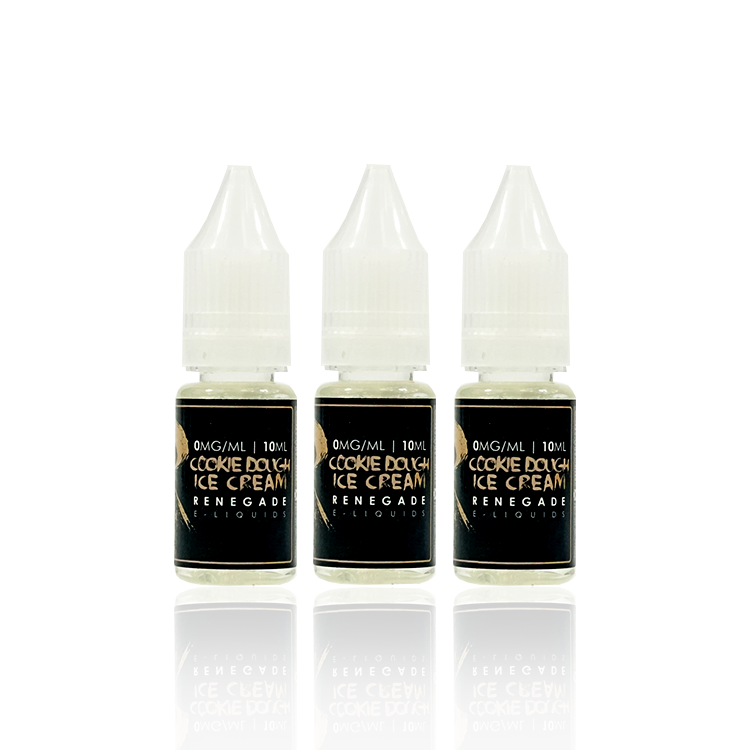 Cookie Dough Ice Cream by Renegade Vape Co - 3x10ML - TPD Compliant!