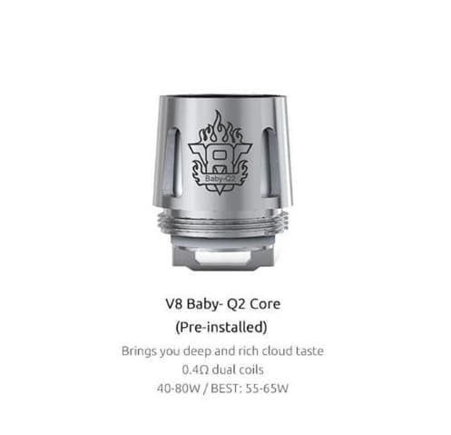 Smok Accessories Smok TFV8 Baby Beast Replacement Coils 5 PACK