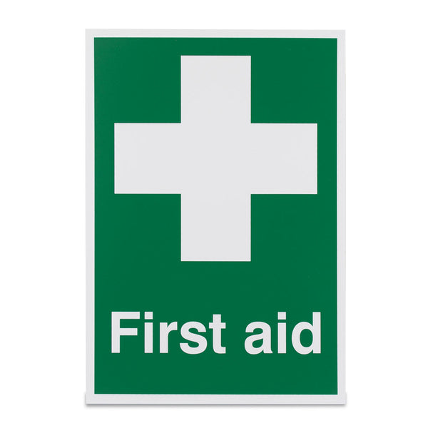 A4 First Aid Sign (Adhesive)