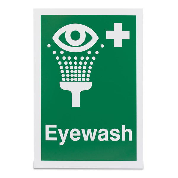 A4 Eye Wash Sign (Adhesive)