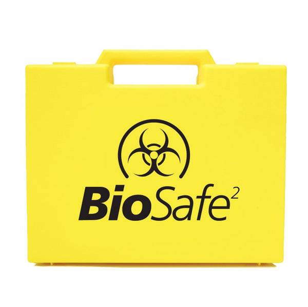 BIOSAFE BODY FLUID DISPOSAL KIT 2 APPLICATION