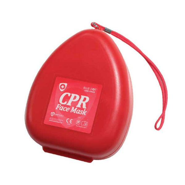 Blue Dot CPR Pocket Face Mask In Case