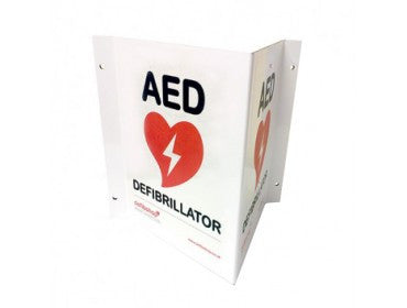Defibrillators 3D Wall Sign