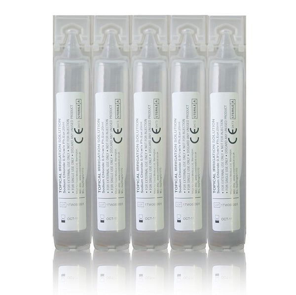 EYE WASH PODS 20ML x 25