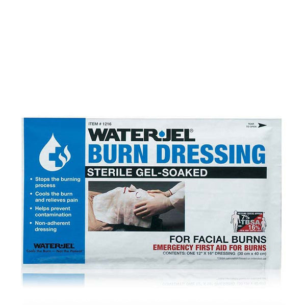 WATER-JEL STERILE BURN DRESSING FOR FACIAL BURNS