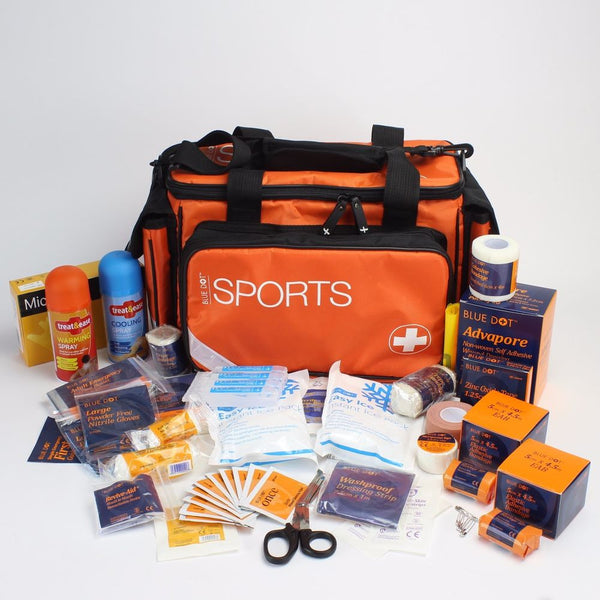 Advanced Sports Kit Complete in Large Orange Bag