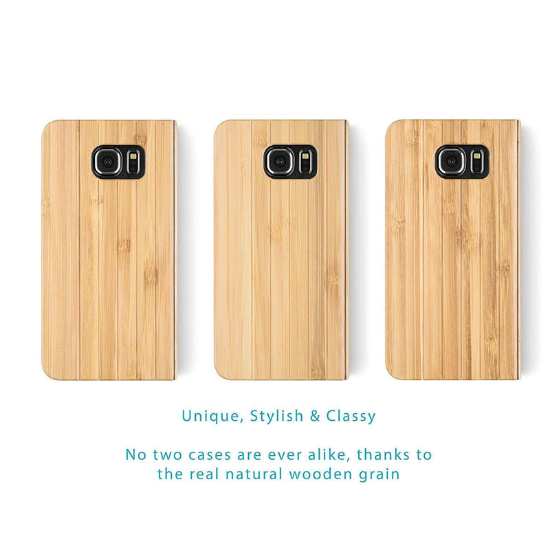 iATO Samsung S6 Wooden Mobile Phone Cases & Covers