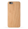 iPhone 6s Plus / 6 Plus Case. Real Natural Cherry Wood. Minimalistic Design.