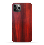 iPhone 11 Pro Case. Real Natural Rose Wood. Minimalistic Design.