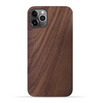 iPhone 11 Pro Case. Real Natural Walnut Wood. Minimalistic Design.