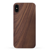 iPhone Xs/X Case. Real Natural Walnut Wood. Minimalistic Design. - iATO Awesome Accessories