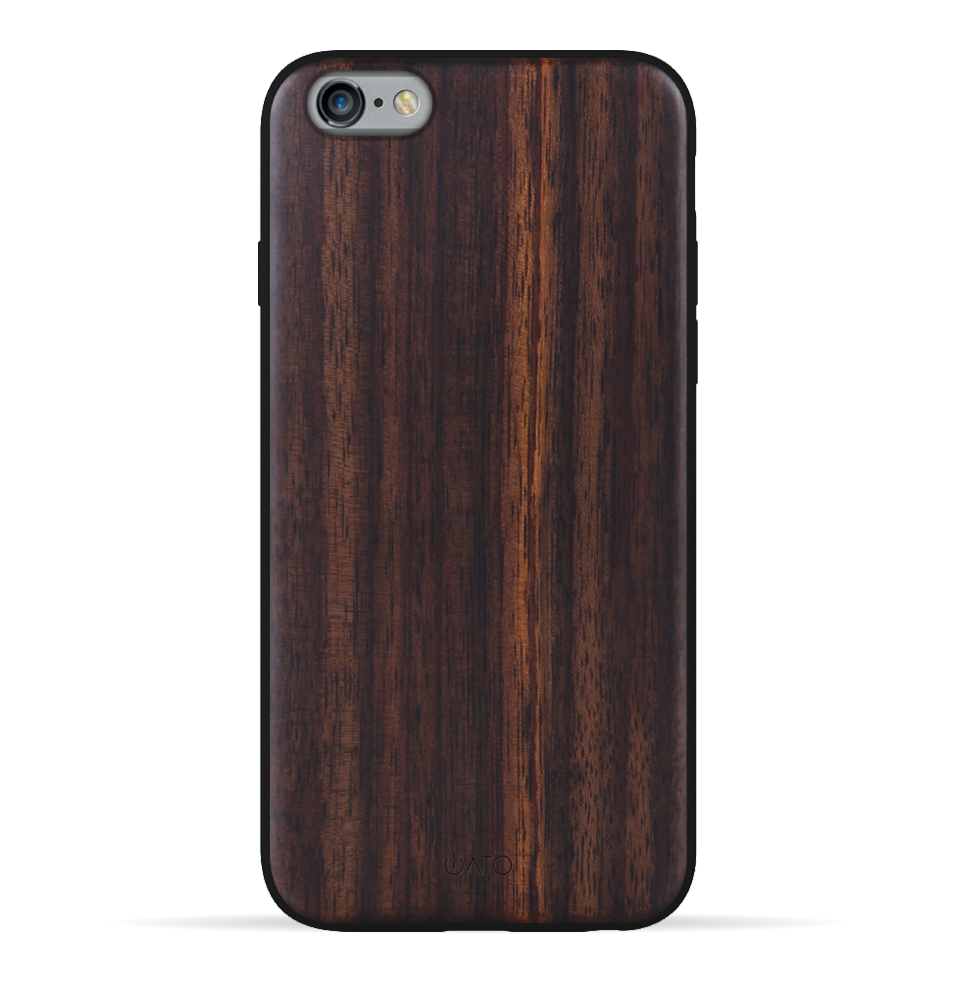 iPhone 6s Plus / 6 Plus Case. Real Natural Bois de Rosewood. 360 Protection. - iATO