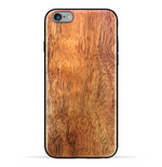 iPhone 6s Plus / 6 Plus Case. Real Natural Ormosia Wood. 360 Protection.
