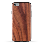 iPhone 6s/6 Case. Real Natural Walnut Wood. 360 Protection.